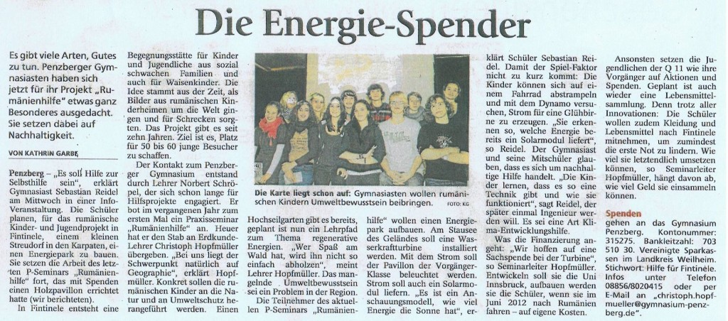 Die Energie-Spender